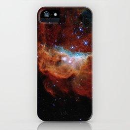 Hubble Telescope: Cosmic Reef (2020), NGC 2014, NGC 2020 iPhone Case