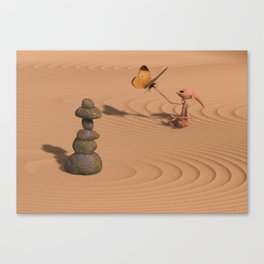 A Little Zen Canvas Print