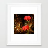 passion Framed Art Prints featuring Passion by LudaNayvelt