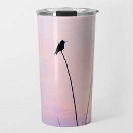 Humming Bird Silhouette  Travel Mug