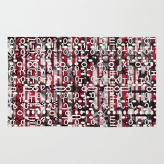 Linear Thinking Trip-Switch (P/D3 Glitch Collage Studies) Rug