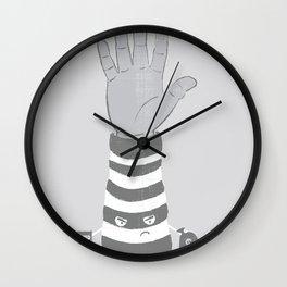 Armed Robbery Wall Clock
