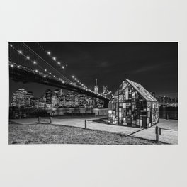 Light House at Brooklyn Bridge Park Rug