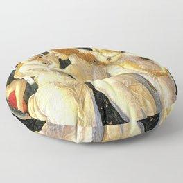 Sandro Botticelli Primavera The Three Graces Floor Pillow