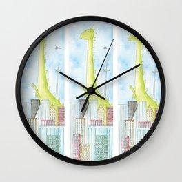 town monster Wall Clock