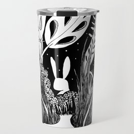 Shy Rabbit Travel Mug