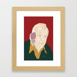 Quincy Framed Art Print