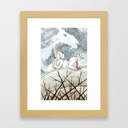 The Noose or the Thorns, 2014 Framed Art Print