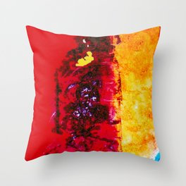 STRAVINSKY: Fingals Cave       by Kay Lipton Throw Pillow