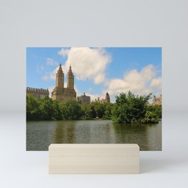 San Remo Towers And The Lake Mini Art Print
