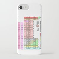 periodic table iPhone & iPod Cases featuring Periodic Table Of  The Elements by GrafXthings