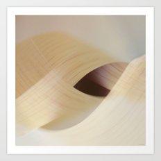 interweaving Art Print