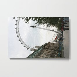 Eye in Londontown Metal Print