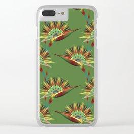 Strelitzia 1a Clear iPhone Case