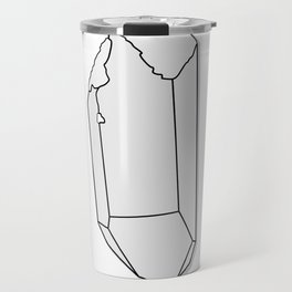 Clear Quartz Travel Mug