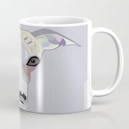 Whippet in Denim Colors Coffee Mug