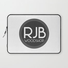 RJB Woodshop Logo Laptop Sleeve
