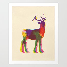 Dear Art Print Art Print