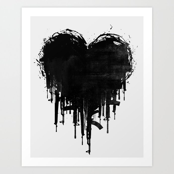 Image result for image of a dark heart