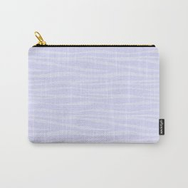 Zebra Print - Lavender Sorbet Carry-All Pouch
