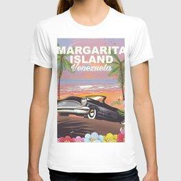 Margarita Island Venezuela travel poster T-shirt
