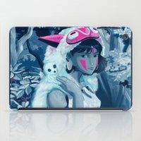 princess mononoke iPad Cases featuring Princess Mononoke by hollarity