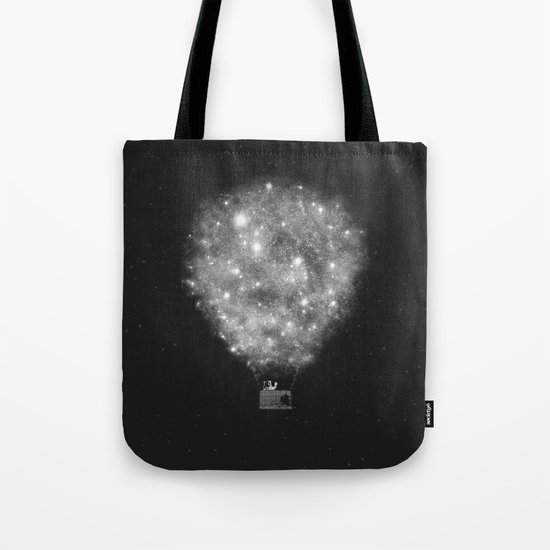 Supernova Sky Ride Tote Bag