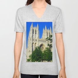 Washington National Cathedral Unisex V-Neck