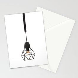 Modern Lamp (Color) Stationery Cards