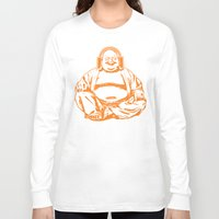 buddah Long Sleeve T-shirts featuring Buddah Beats by ALLGOLD Creative