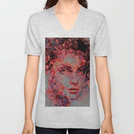 Heather Unisex V-Neck