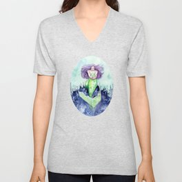 Reef Mermaid Unisex V-Neck