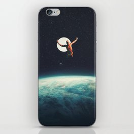 Returning to Earth with a will to Change iPhone Skin