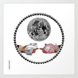 Corporuption Art Print