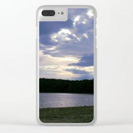 Walden Pond at Dusk Clear iPhone Case
