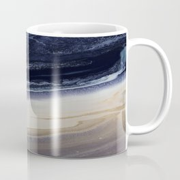 Marble in Blue and Ivories Coffee Mug