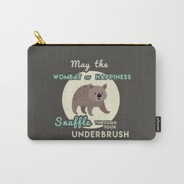 Wombat of Happiness Carry-All Pouch