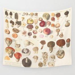 Fungi fun Wall Tapestry