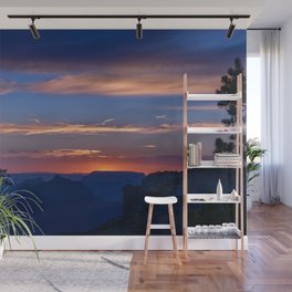 Colorful Sunset - North_Rim, Grand_Canyon, AZ Wall Mural