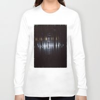 tape Long Sleeve T-shirts featuring Tape by Brandon Lynch
