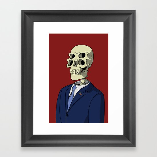 Universal Candidate Framed Art Print