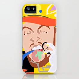 MAC MILLER---Face Art iPhone Case