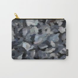 Shades of Gray Tapestry Carry-All Pouch