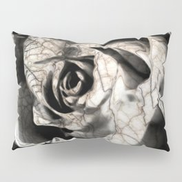 Rose forming from light and shadows Pillow Sham