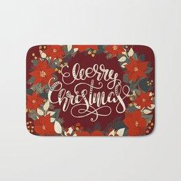 Christmas Greetings 5 Bath Mat