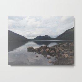 Jordan Pond Metal Print
