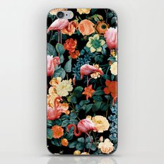 Floral and Flemingo II Pattern iPhone & iPod Skin