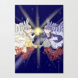 Twin Star Canvas Print