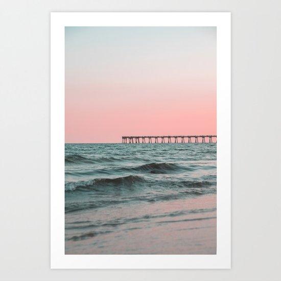 Pink Ocean by summersunhomeart