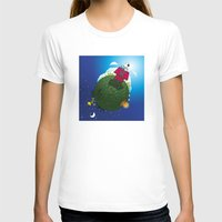 peanuts T-shirts featuring Green Peanuts World by SlyApparel